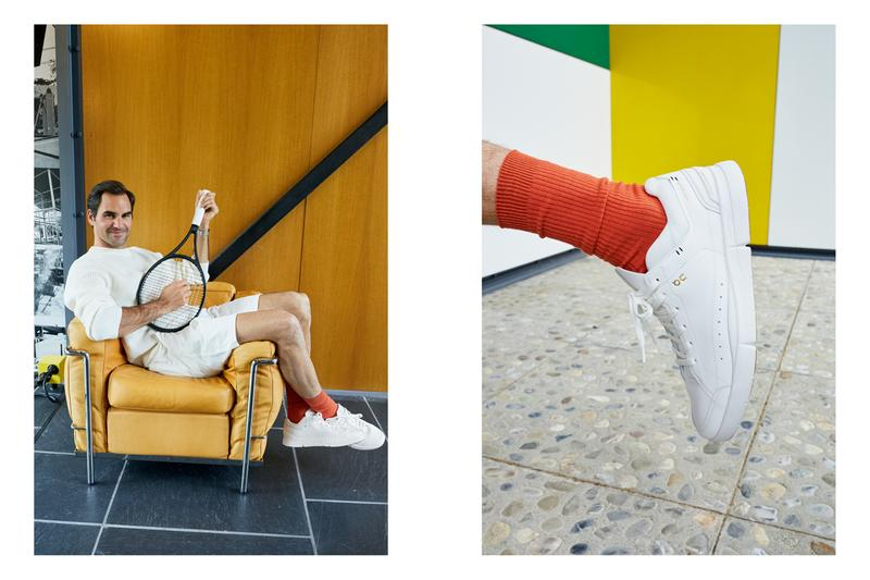 on running the roger federer sneaker centre center court 0 series white release info interview david allemann founder tennis player Juergen Teller shoes lifestyle style fashion Cloudtec speedboard