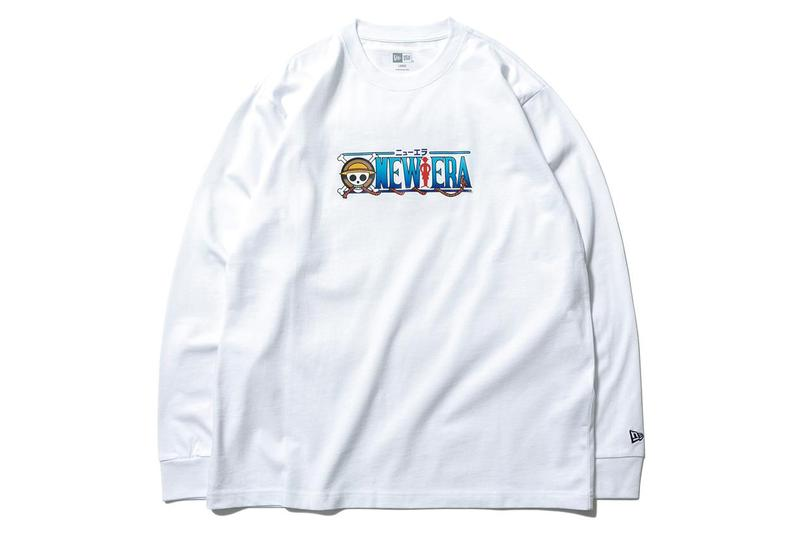 New Era Japan 'One Piece' Sanji, Zoro, Cap Crew collaboration buggy chopper golfing collection bag tote hat tee shirt hoodie