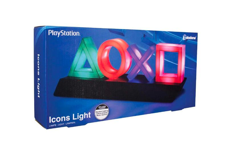 Paladone Products PlayStation Light Release gaming Playstation Breakdown Plastic sony Teiyu Goto lamps accessories