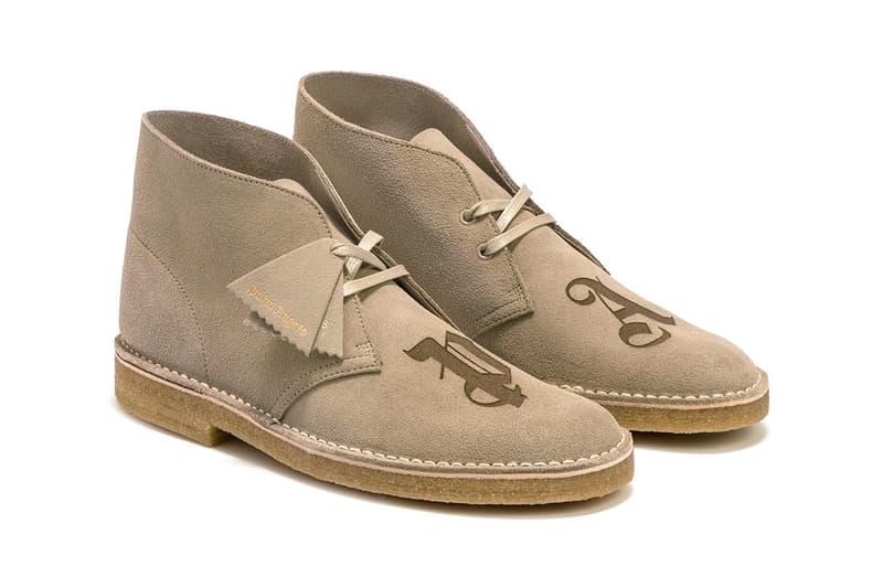 palm angels francesco ragazzi clarks originals desert boots buy cop purchase black sand release information HBX