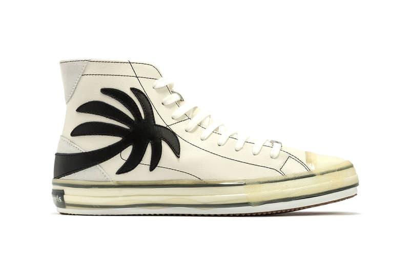 Palm Angels Palm High-Top Sneakers footwear palm trees kicks shoes trainers canvas francesco ragazzi