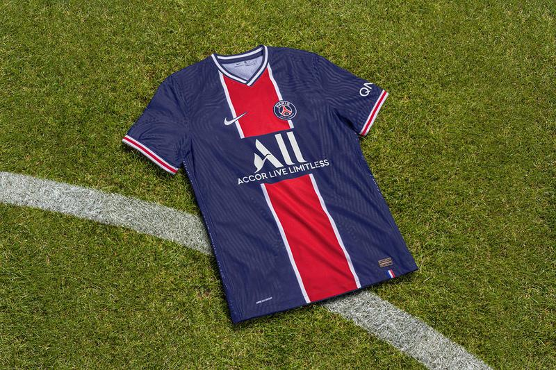 nike paris saint germain psg france french home away kit jersey release information hechter stripes 70s 90s details ligue 1 champions league