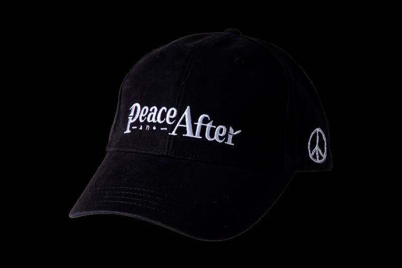 PEACE AND AFTER Embroidered Logo Caps Release Info White Green Orange