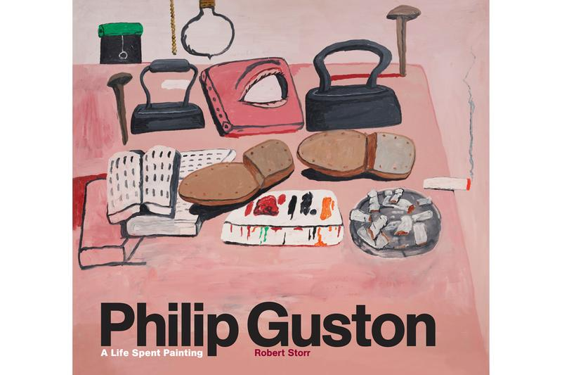 philip guston hauser and wirth online viewing room laurence king book a life spent painting