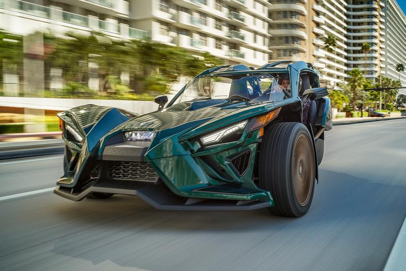 Polaris 2020 Slingshot Grand Touring LE Release Info three wheeled roadster