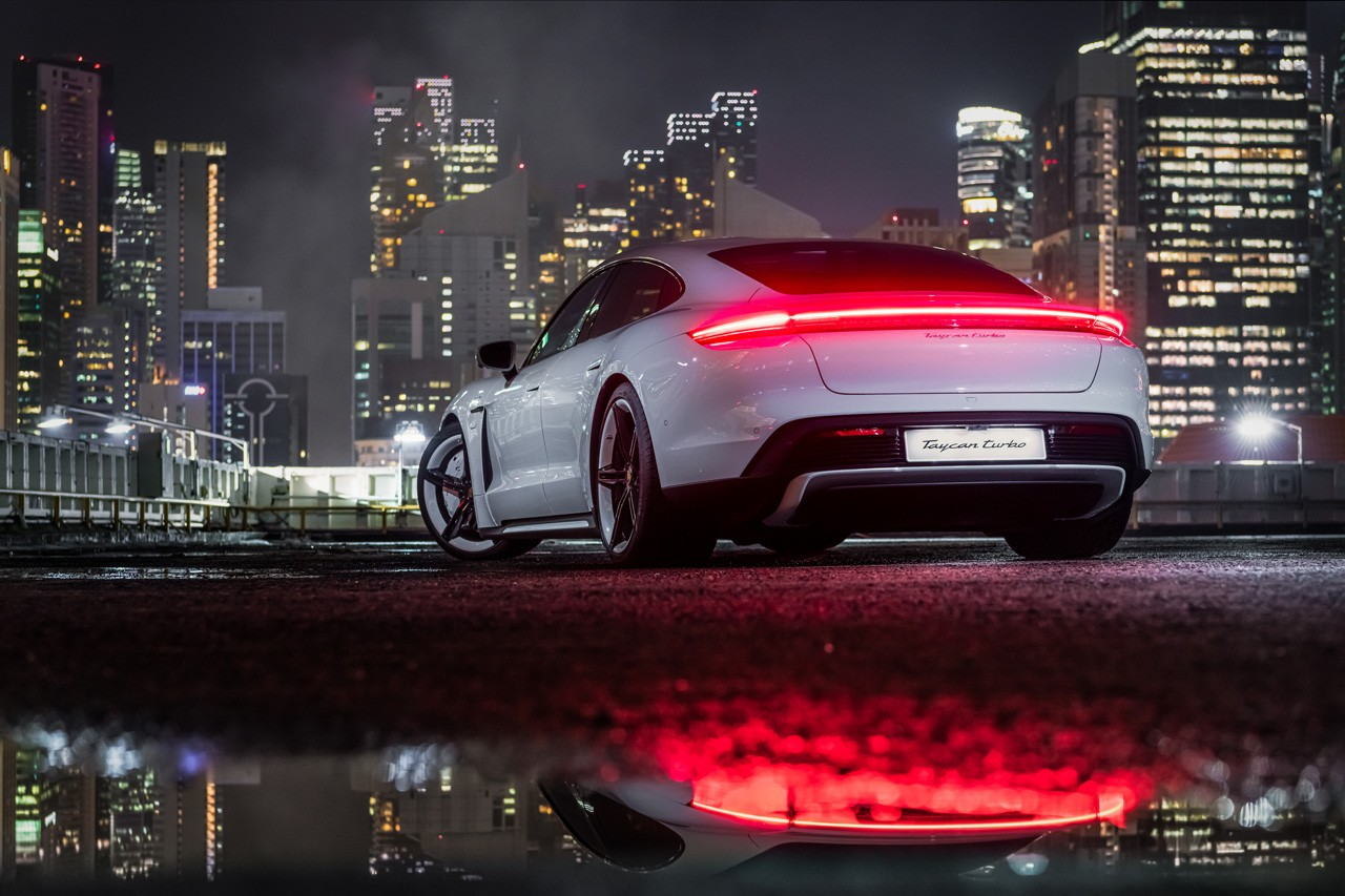 Porsche Taycan 4S Turbo S Taycan Turbo performance efficiency state of the art technology fully electric electromobility design warranty package