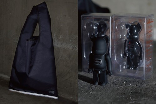 Medicom Toy BE@RBRICK and PORTER Team up for a Special Event Collaboration