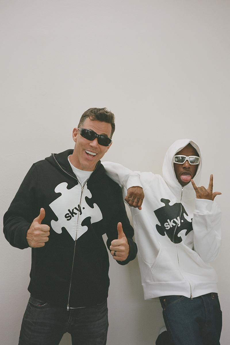 PUZZLEINTHESKY Somewhere Between Series Launch Steve-O Bloody O Release Info date Buy Price Hoodie Gunner Stahl