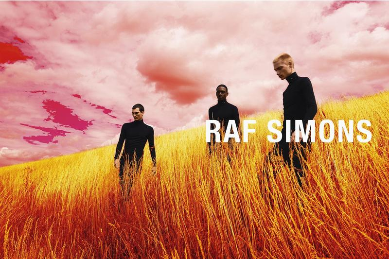 Raf Simon Fall Winter 2020 Campaign willy vanderperre lookbook menswear streetwear antwerp Olivier Rizzo Ashley Brokaw
