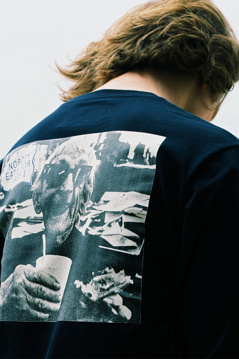 reception clothing france fall winter 2020 fw20 collection lookbook los angeles la jack kerouac t-shirt graphic rugby coach jacket