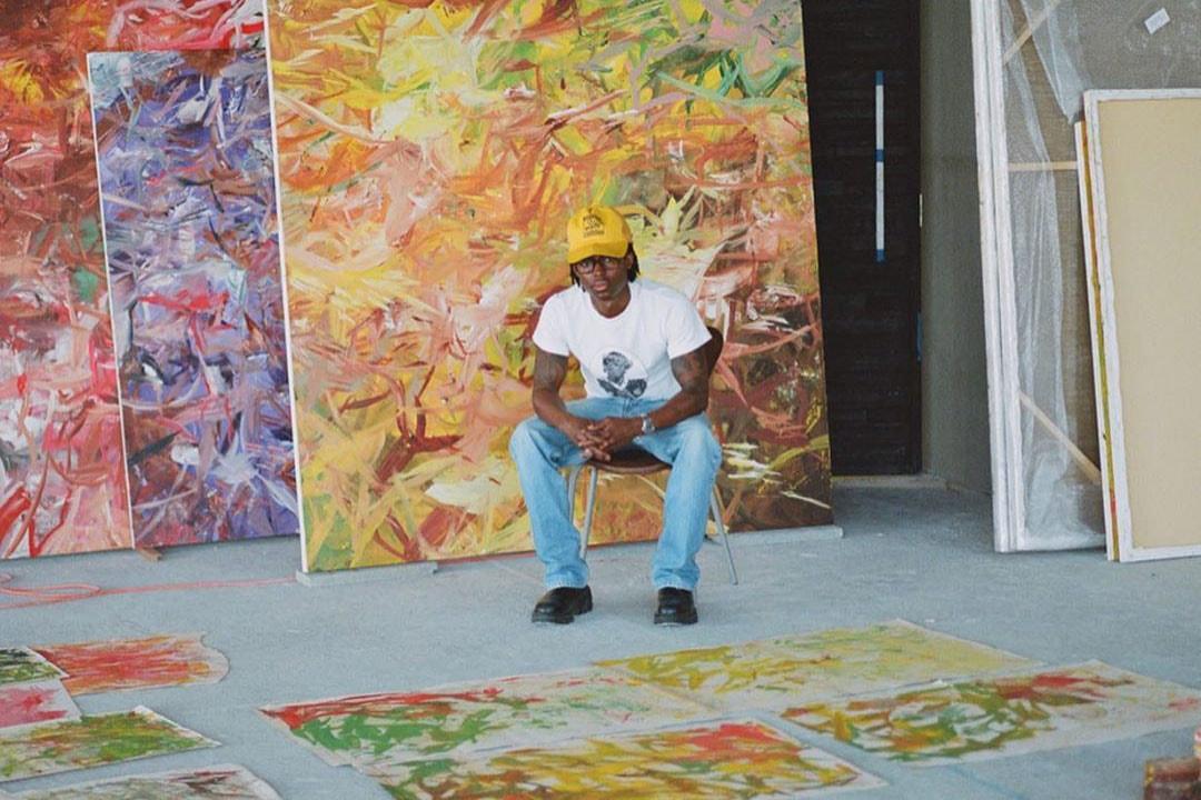 "Reginald Sylvester II Displays Abstract Artworks in ""Introspective"" Online Viewing Room"
