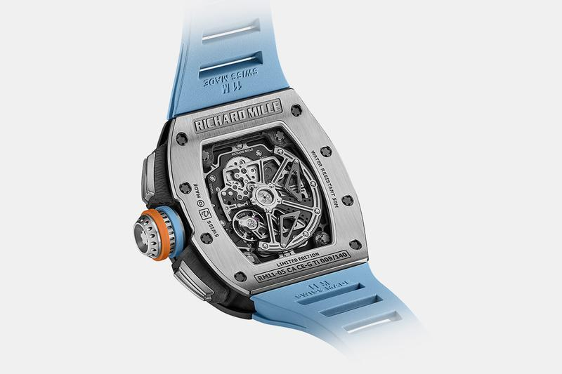 richard mille gray cermet rm 11 05 flyback chronograph gmt skeletonized luxury swiss haute horology