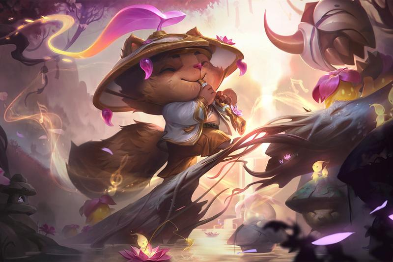 riot games cross title spirit blossoms anime theme event experience league of legends of runeterra teamfight tactics
