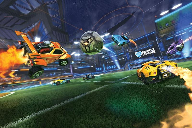 Epic Games Rocket League Free-To-Play Summer 2020 Steam PC