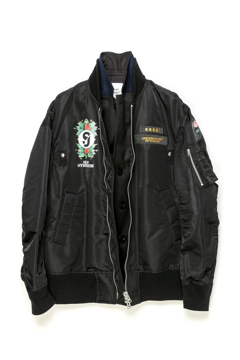 sacai undercover fw20 ma-1 bomber jacket fall winter 2020 Japanese release info drop