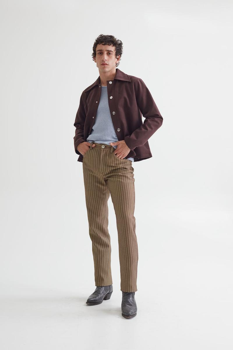 "Séfr Spring/Summer 2021 ""Union"" Collection Lookbook Release Information Menswear Closer Look Swedish Label Tailoring Shirts Blazers Denim Jeans"