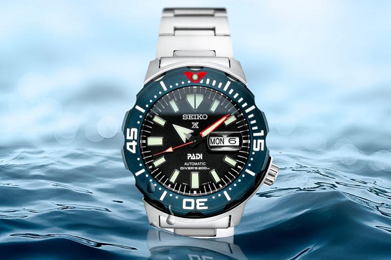 seiko diver diving watches prospex srpe27 monster padi special edition summer diving season