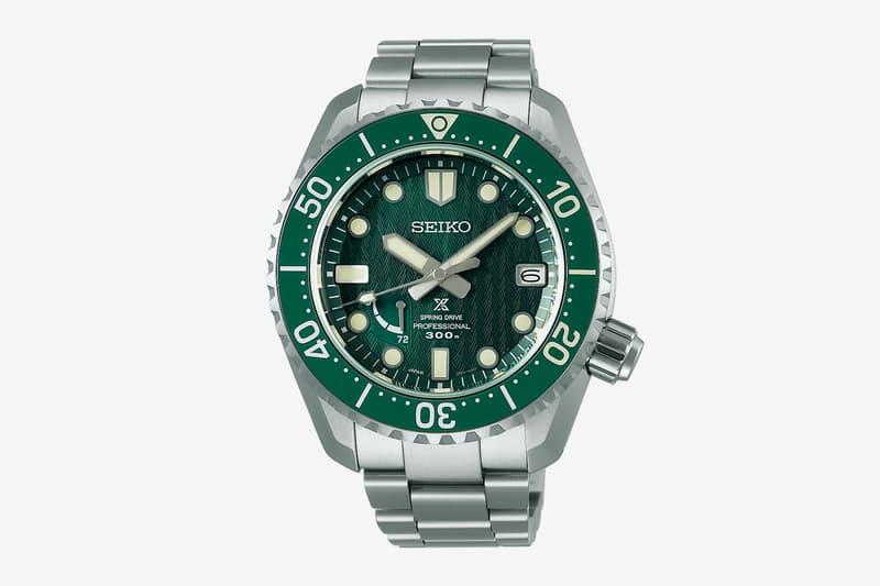 Seiko Prospex SNR045J1 Skarvsnes Foreland Watch Rolex Submariner HULK Green diver 5R65 Spring Drive Watches Japan Showa meachanical
