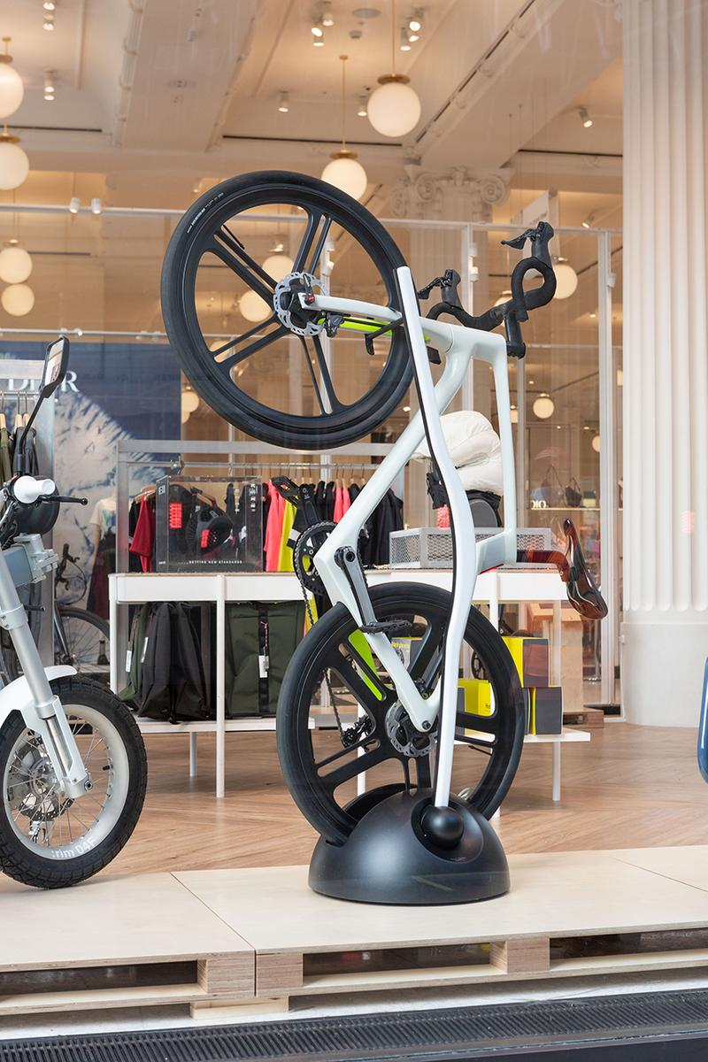selfridges cycling bike store e-bike e-motorcycle accessories information details opening date details buy cop purchase