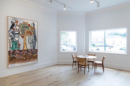 Skarstedt's New East Hampton Gallery Displays Works by KAWS, Barbara Kruger and More