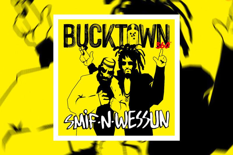 Smif N Wessun Bucktown 360 Dah Shinins 25th Anniversary Single Stream nervous records