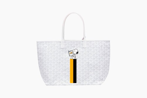 PEANUTS x Goyard Snoopy Tote Bag