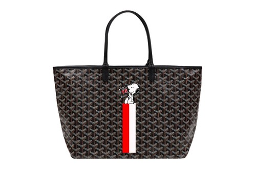 Goyard Channels Snoopy Prints for 2020 Capsule