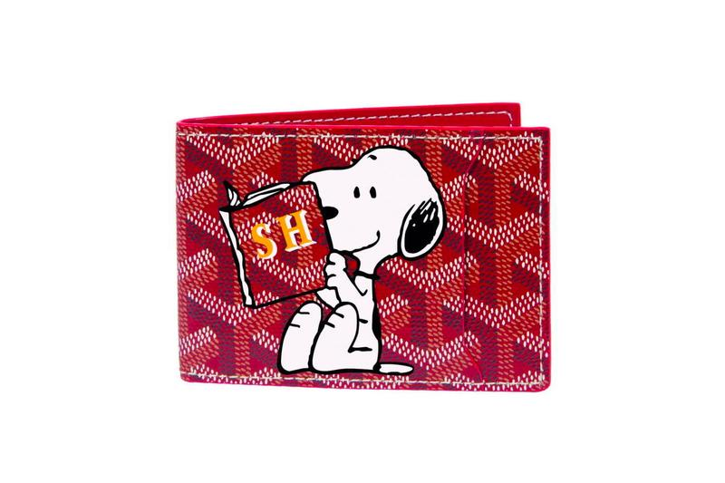 PEANUTS Goyard 2020 Snoopy Capsule accessories bags cartoon prints graphics french paris luxury