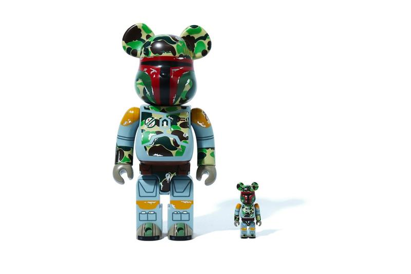Star Wars The Empire Strikes Back 40th Anniversary BAPE Collection release info a bathing ape medicom toy bearbrick vcd figures boba fett darth vader
