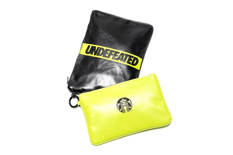 Starbucks UNDEFEATED Capsule Release Bags Pouch Apron Cups Mugs Tumbler