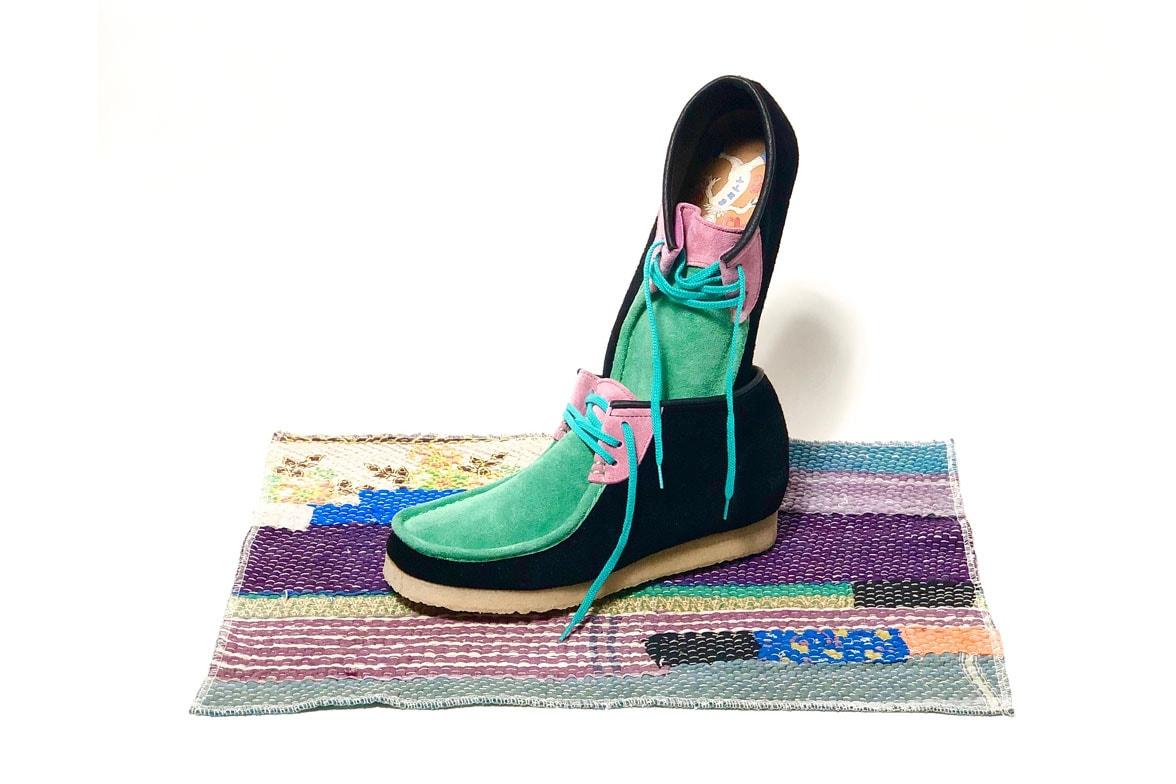 STOCK NO. Wallabee Boot for DIVINITIES, BoTT collaboration shoe sneaker model pop up japan number