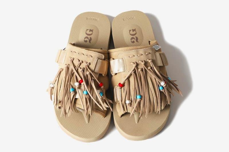 Poggy 2G Suicoke HOTO-SCab shibuya parco black beige menswear streetwear spring summer 2020 collection ss20 japanese label footwear slides sandals