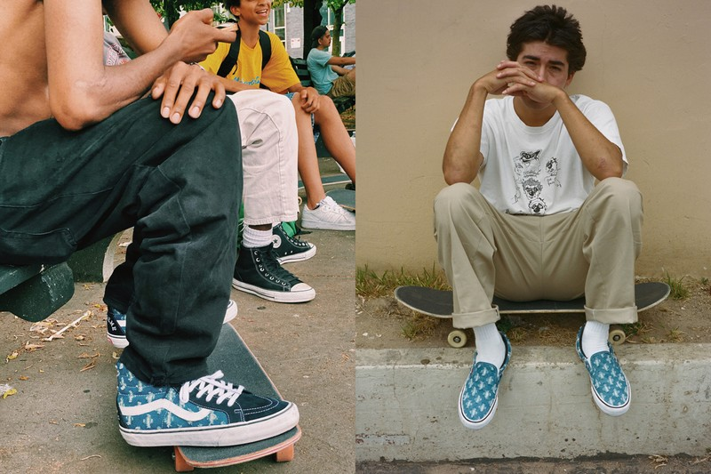 Supreme and Vans Announce New Distressed Denim Pack