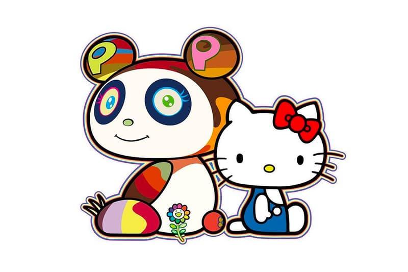 Takashi Murakami Hello Kitty Collaboration Teaser Info