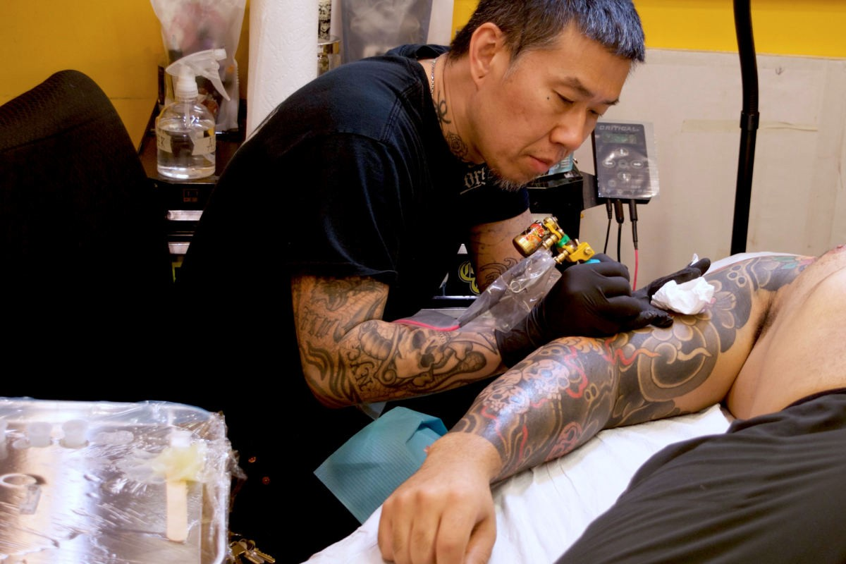 tattoo artists coronavirus pandemic jun cha mark cross kiku punk