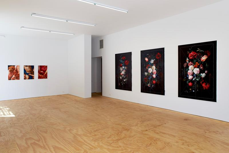 ted pim when time stood still half gallery exhibition paintings