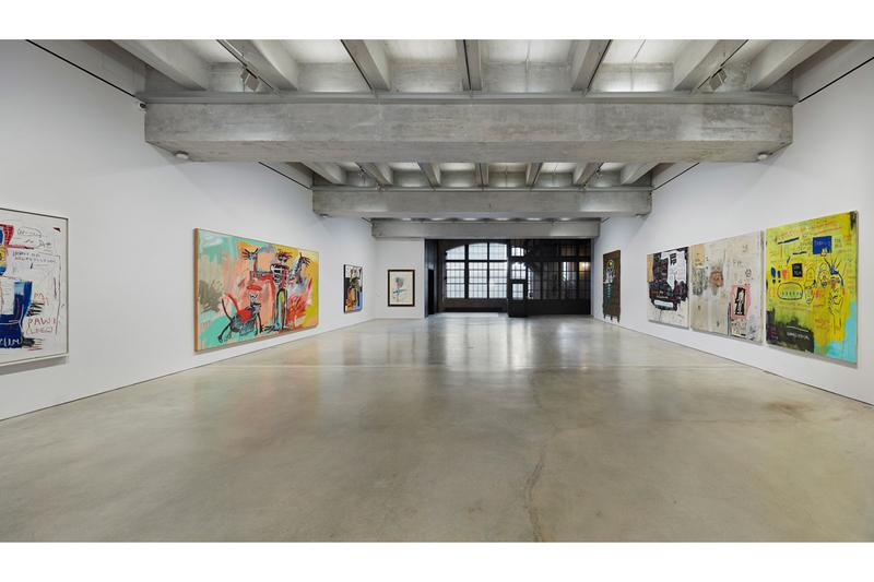 Jean-Michel Basquiat Exhibition Virtual Tour the brant foundation new york