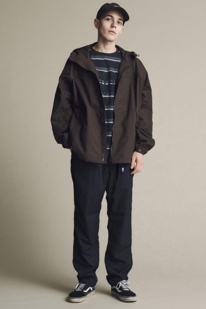 THE NORTH FACE PURPLE LABEL Fall/Winter 2020 collection lookbook fw20 japan Eiichiro Homma nanamica