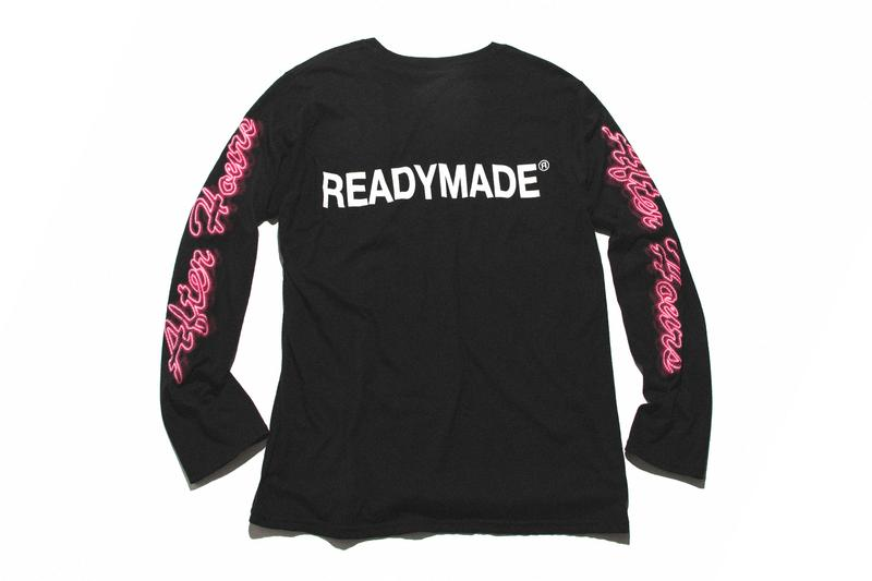 The Weeknd READYMADE After Hours Capsule Release Info HBX T shirt tie dye long short sleeve