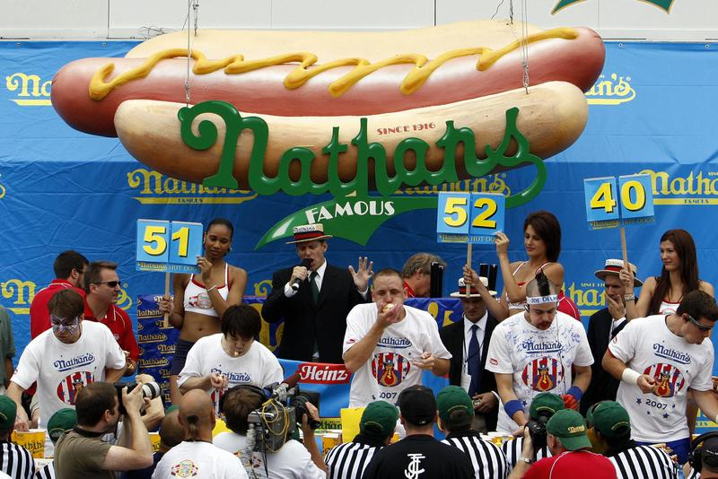 Three States Approve Hot Dog Eating Contest Betting Info Major League Eating Nathan's Famous