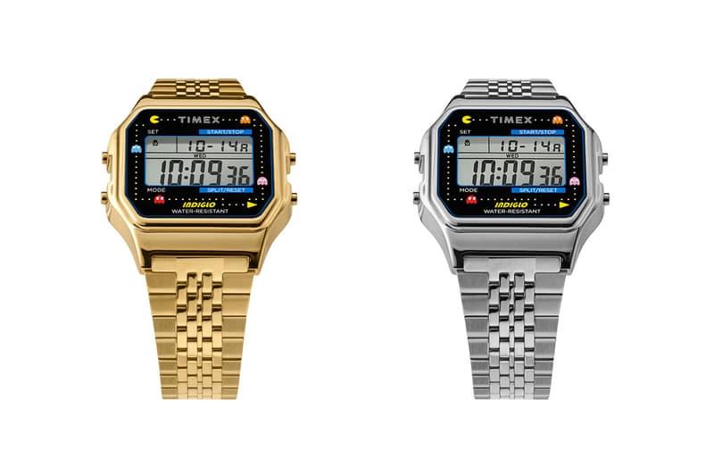 timex pac man arcade retro vintage gaming t80 digital watches accessories
