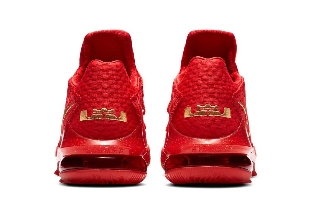 TITAN x Nike LeBron 17 Low Release Date