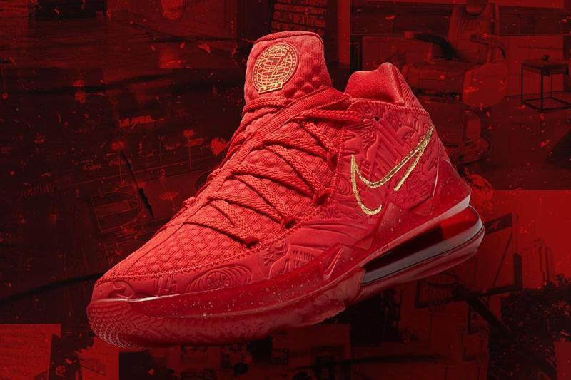 titan philippines nike basketball lebron james 17 low red gold official release date info photos price store list buying guide