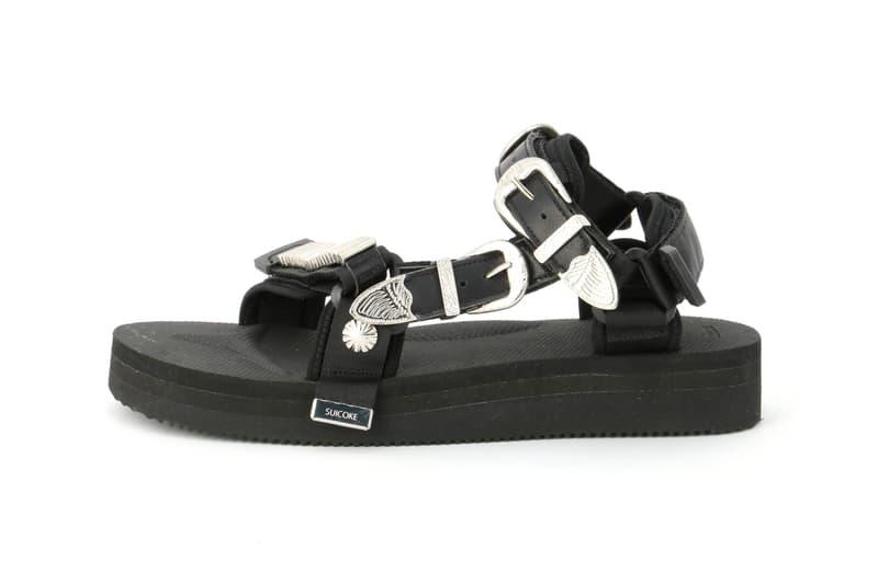 TOGA Suicoke MURA SP DEPA summer 2020 Capsule menswear streetwear ss20 collection collaborations silver metallic sandals slides