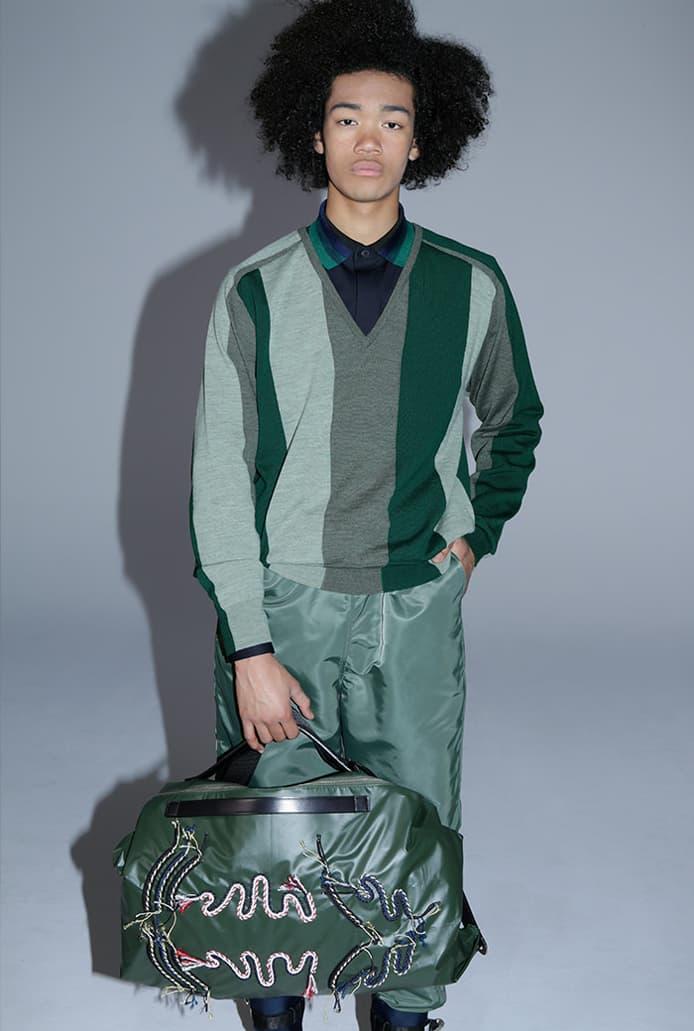 TOGA VIRILIS Fall/Winter 2020 2021 FW20-21 Collection Lookbook Yasuko Furuta Menswear Release Tailoring Military Influences 1950s Classics Western SUICOKE Collaboration