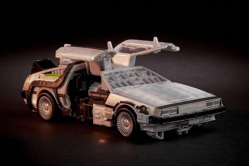 transformers back to the future 35th anniversary gigawatt delorean figurine official release date info photos price store list buying guide