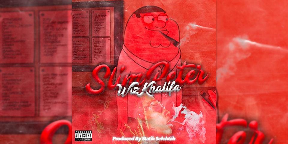 """Wiz Khalifa and Statik Selektah Drop New Collab """"Slim Peter"""""""