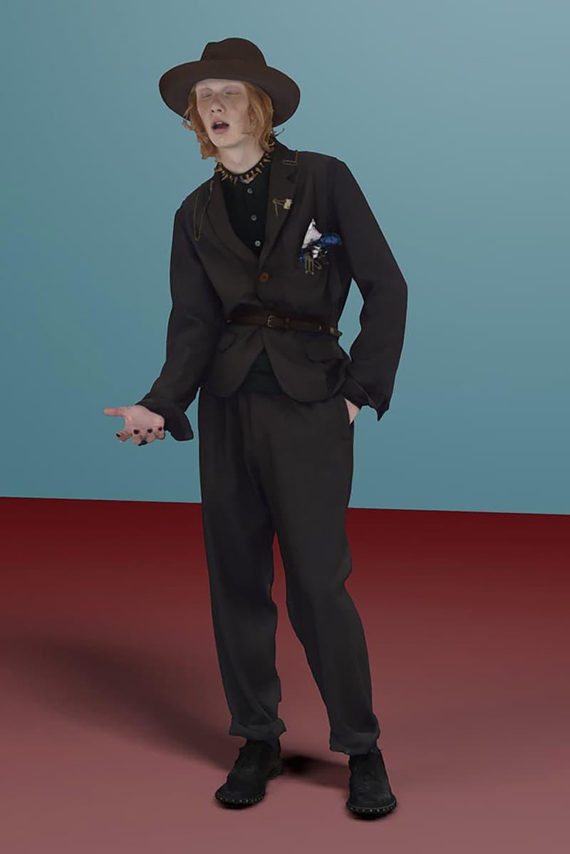 "UNDERCOVER SS21 ""2020"" Men's Collection Lookbook  spring summer 2021 japan nike collaboration sneaker menswear paris fashion week jun takahashi 3d"