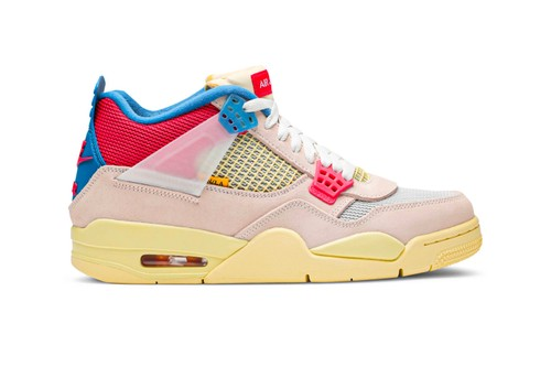 """Here's Your First Look at the Union x Air Jordan 4 Retro """"Guava Ice"""""""