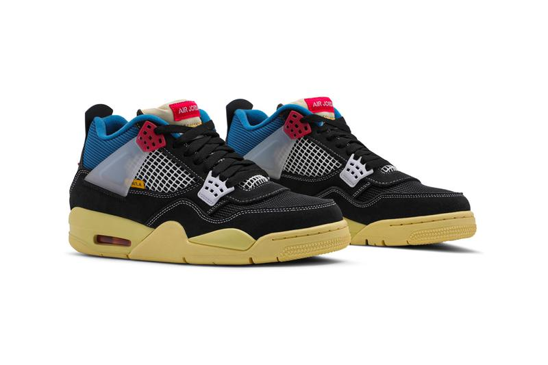 Union Air Jordan 4 Retro Off Noir Full Look DC9533-001 Release Info Buy Price